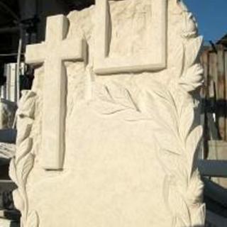 Надгробен паметник от варовик Модел 400
