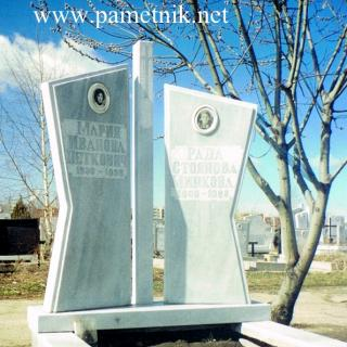 Надгробен паметник от мрамор Модел 49