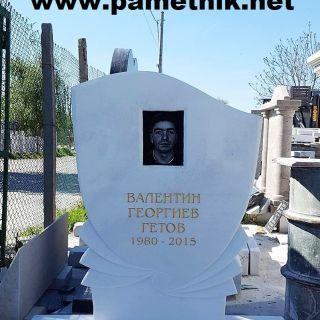 Надгробен паметник от мрамор Модел 27