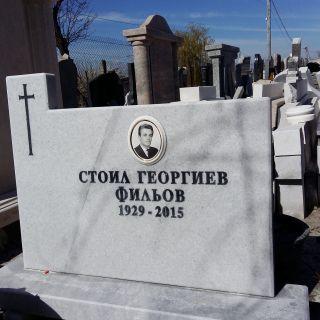 Надгробен паметник от мрамор Модел 25