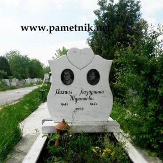 Надгробен паметник от мрамор Модел 33