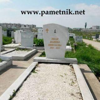 Надгробен паметник от мрамор Модел 34