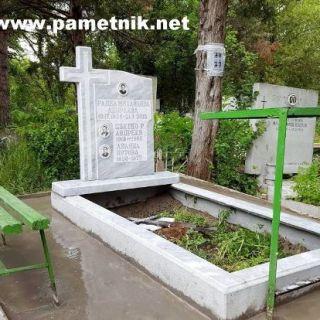 Надгробен паметник от мрамор Модел 77