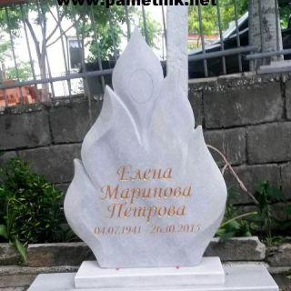 Надгробен паметник от мрамор Модел 18
