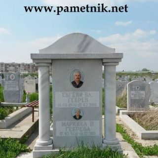 Надгробен паметник от мрамор Модел 36