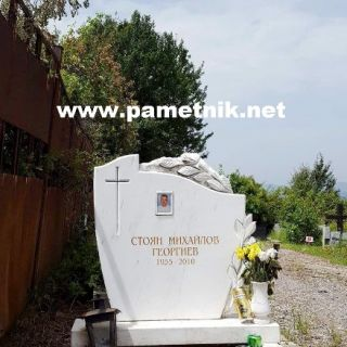 Надгробен паметник от мрамор Модел 83