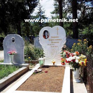 Надгробен паметник от мрамор Модел 87