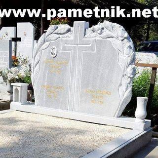 Надгробен паметник от мрамор Модел 88