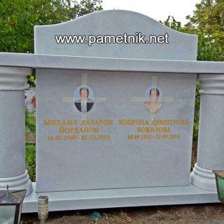 Надгробен паметник от мрамор Модел 91