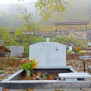 Надгробен паметник от мрамор Модел 306
