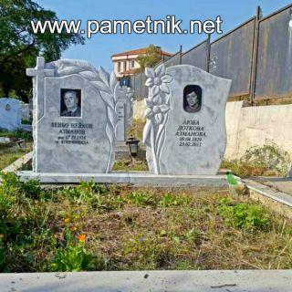 Надгробен паметник от мрамор Модел 308