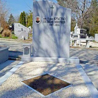 Надгробен паметник от мрамор Модел 100
