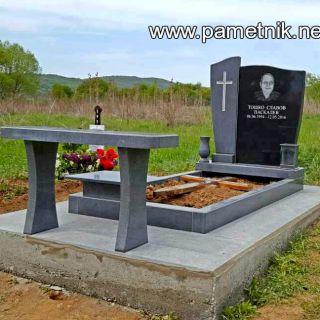 Надгробен паметник от гранит Модел 196