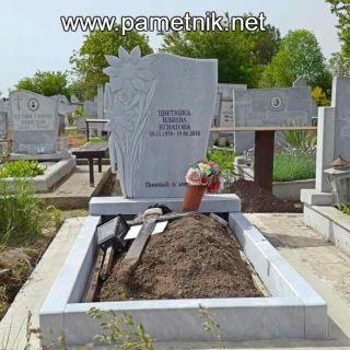 Надгробен паметник от мрамор Модел 96