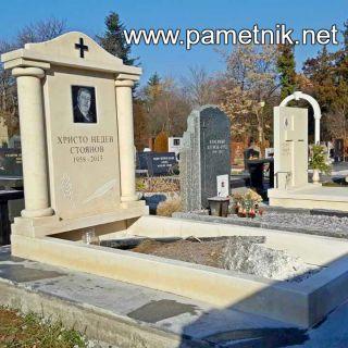 Надгробен паметник от варовик Модел 405