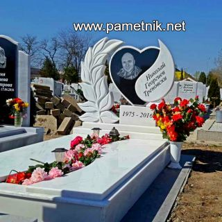Надгробен паметник от гранит и мрамор Модел 197