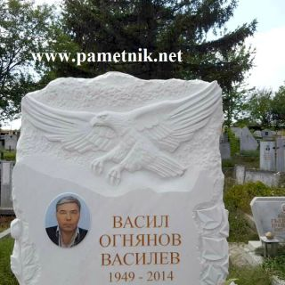 Надгробен паметник от мрамор Модел 313