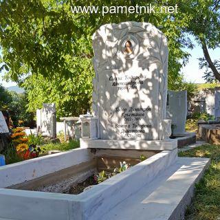 Надгробен паметник от мрамор Модел 320