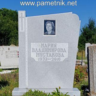 Надгробен паметник от мрамор Модел 322
