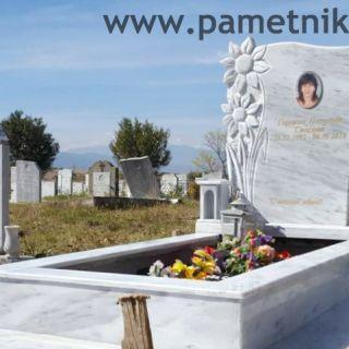 Надгробен паметник от мрамор Модел 603