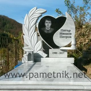 Надгробен паметник от гранит и мрамор МОДЕЛ 700