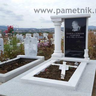 Надгробен паметник от гранит и мрамор МОДЕЛ 701
