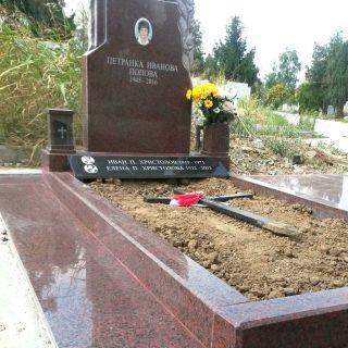 Надгробен паметник от гранит Модел 707