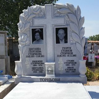 Надгробен паметник от мрамор Модел 614