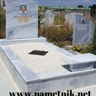 Надгробен паметник от мрамор Модел 609