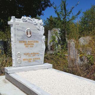 Надгробен паметник от мрамор Модел 611