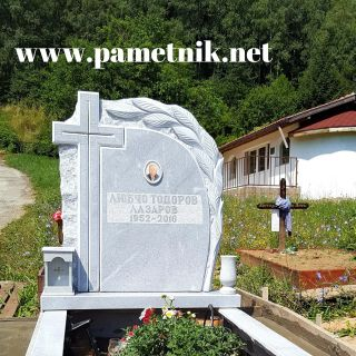 Надгробен паметник от мрамор Модел 613