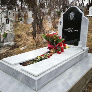 Надгробен паметник от гранит и мрамор Модел 727