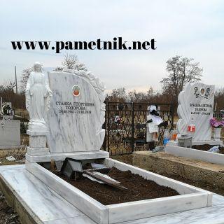 Надгробен паметник от мрамор Модел 640