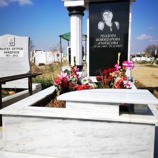 Надгробен паметник от гранит и мрамор Модел 728