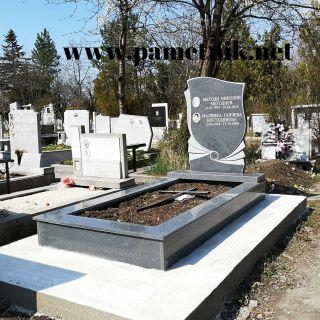 Надгробен паметник от гранит Модел 729
