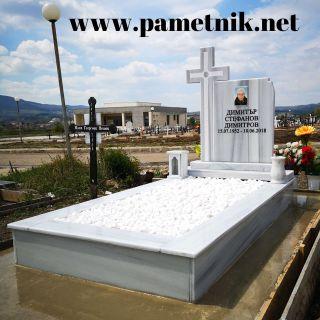 Надгробен паметник от мрамор Модел 641