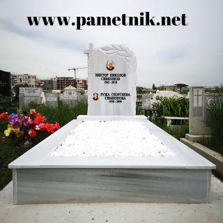 Надгробен паметник от мрамор Модел 648