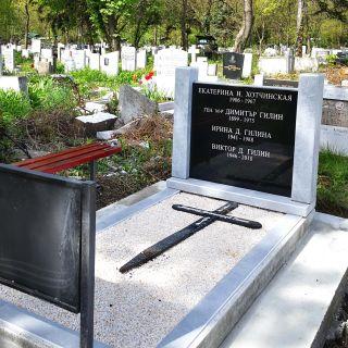 Надгробен паметник от гранит Модел 731
