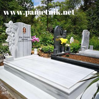 Надгробен паметник от мрамор Модел 646