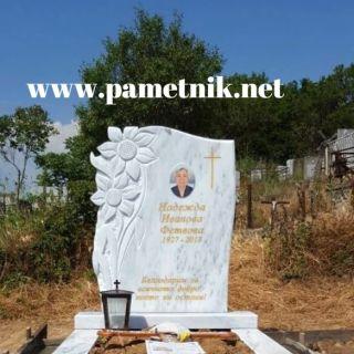 Надгробен паметник от мрамор Модел 628