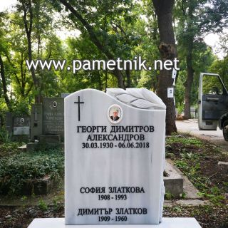 "Надгробен паметник от мрамор ""Модел 655"""