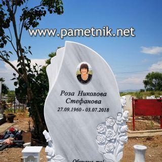 "Надгробен паметник от мрамор ""Модел 652"""